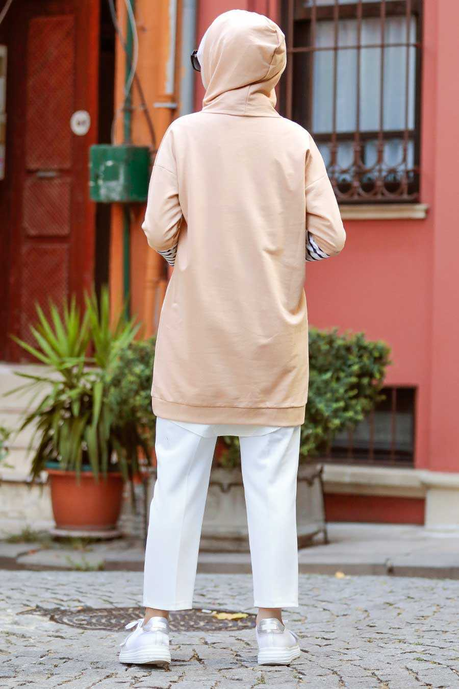 Biscuit Hijab Sweatshirt & Tunic 4212BS