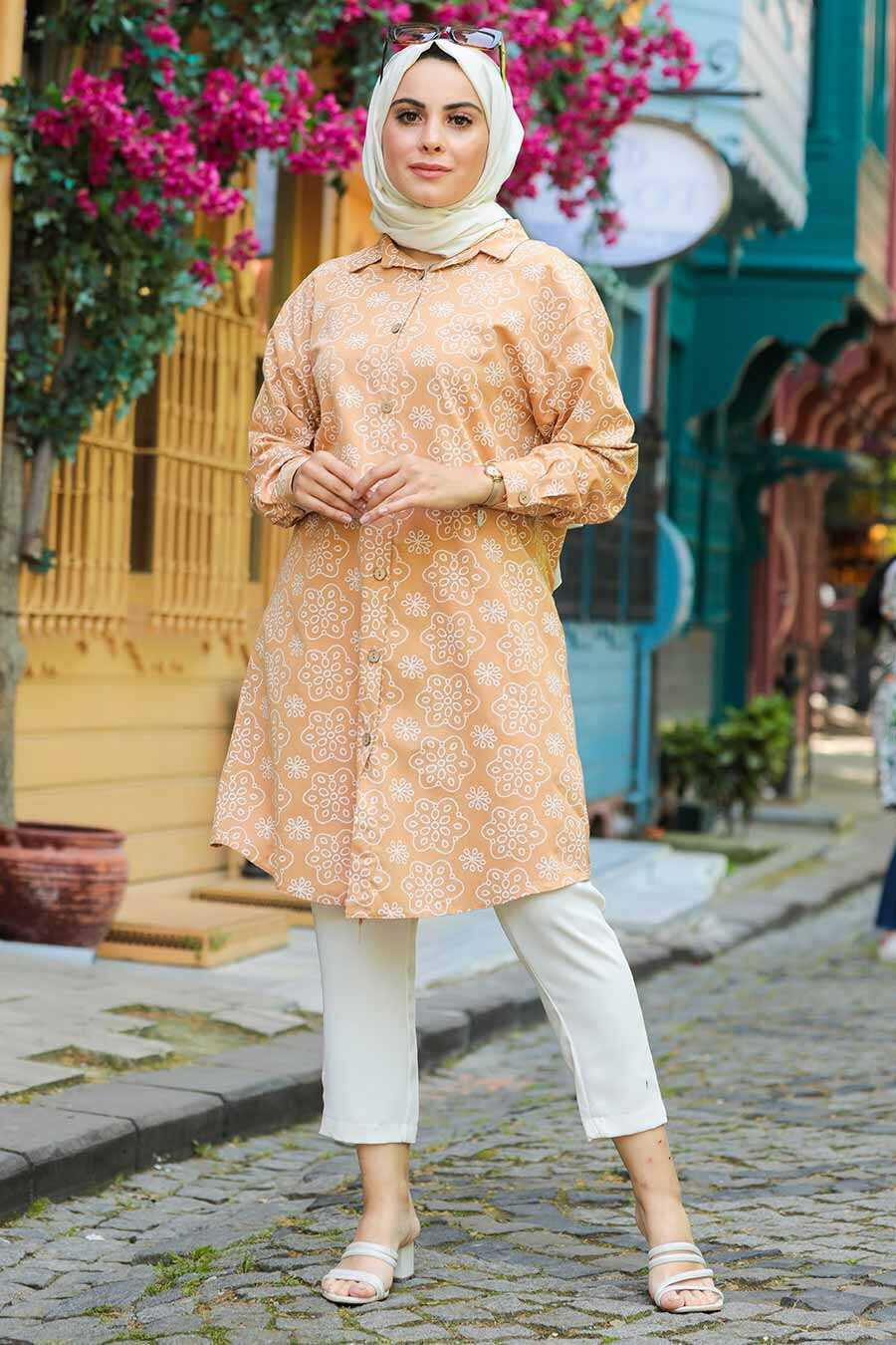 Biscuit Hijab Tunic 20350BS
