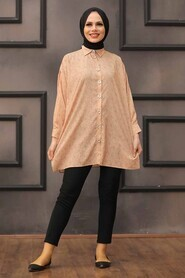 Biscuit Hijab Tunic 273210BS - Thumbnail