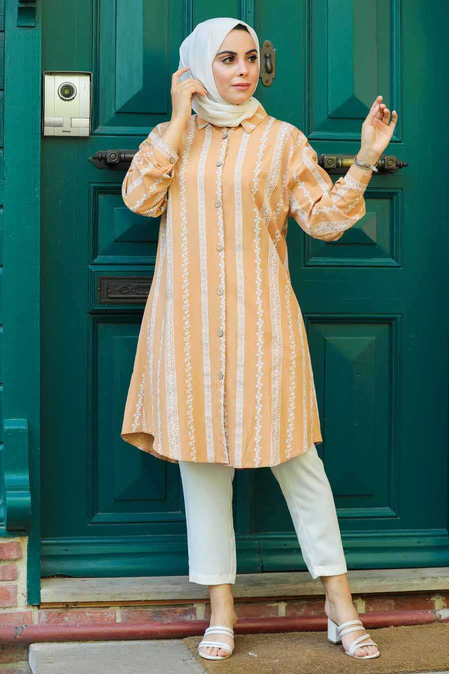 Biscuit Hijab Tunic 5645BS