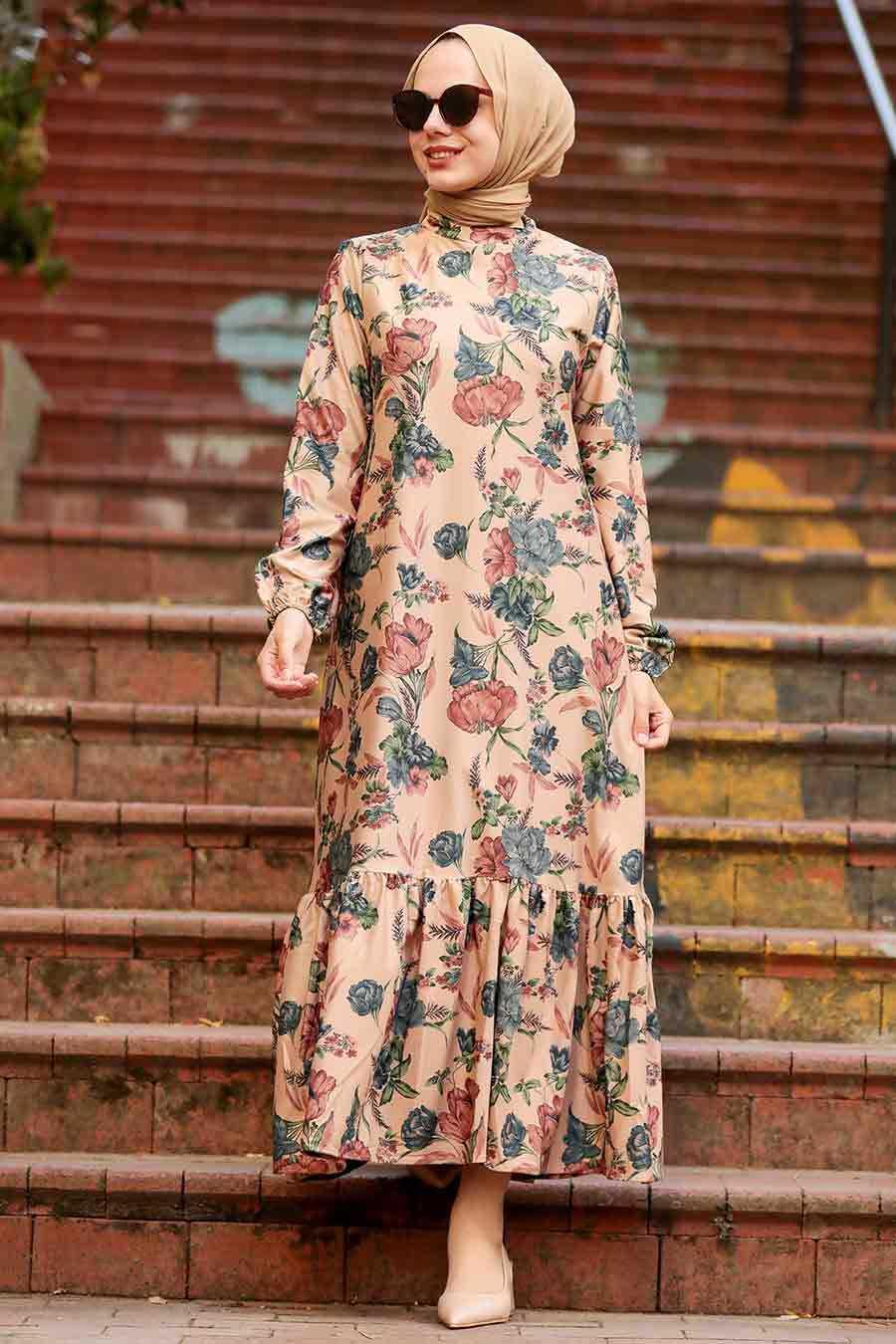 Black Hijab Dress 11852S
