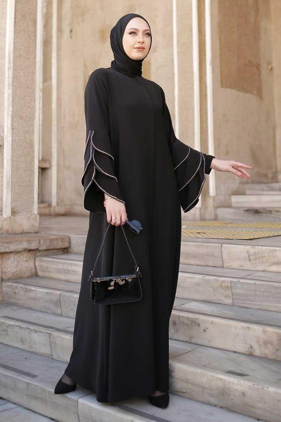 Black Hijab Turkish Abaya 345900S