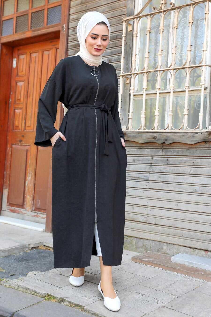 Black Hijab Turkish Abaya 544S