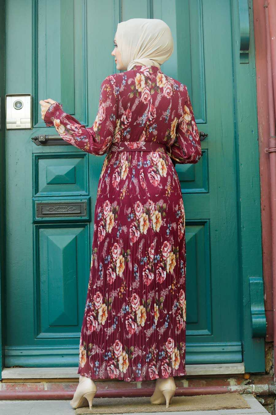 Cherry Hijab Dress 2894VSN