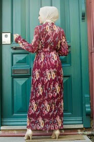 Cherry Hijab Dress 2894VSN - Thumbnail