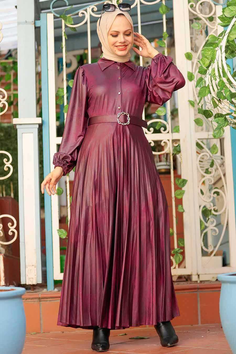 Cherry Hijab Dress 7630VSN