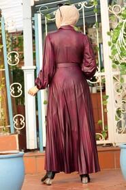 Cherry Hijab Dress 7630VSN - Thumbnail