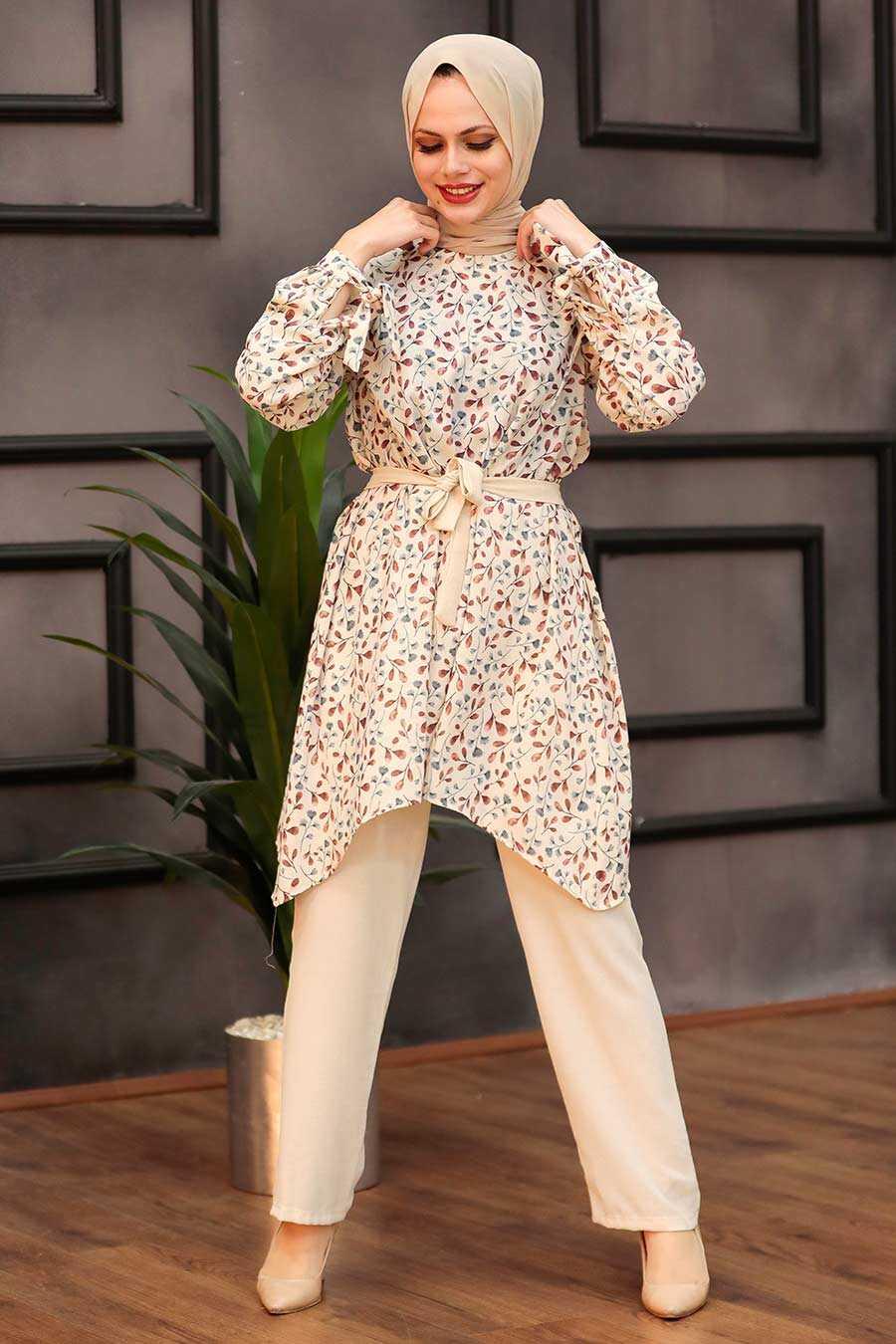 Cherry Hijab Dual Suit Dress 30091VSN