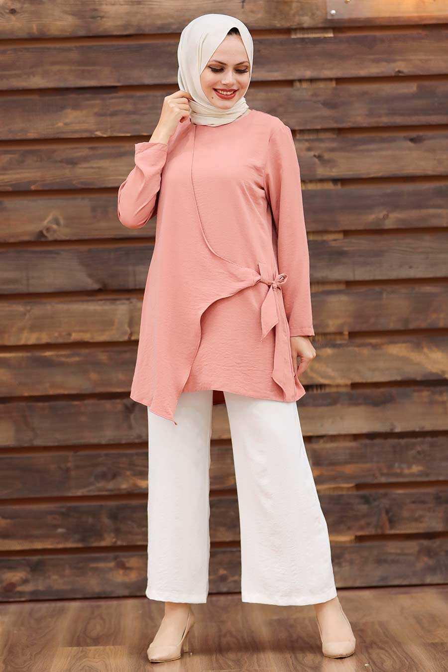 Dusty Rose Hijab Dual Suit 3039GK