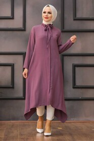 Dusty Rose Hijab Tunic 540GK - Thumbnail
