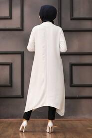 Ecru Hijab Tunic 540E - Thumbnail