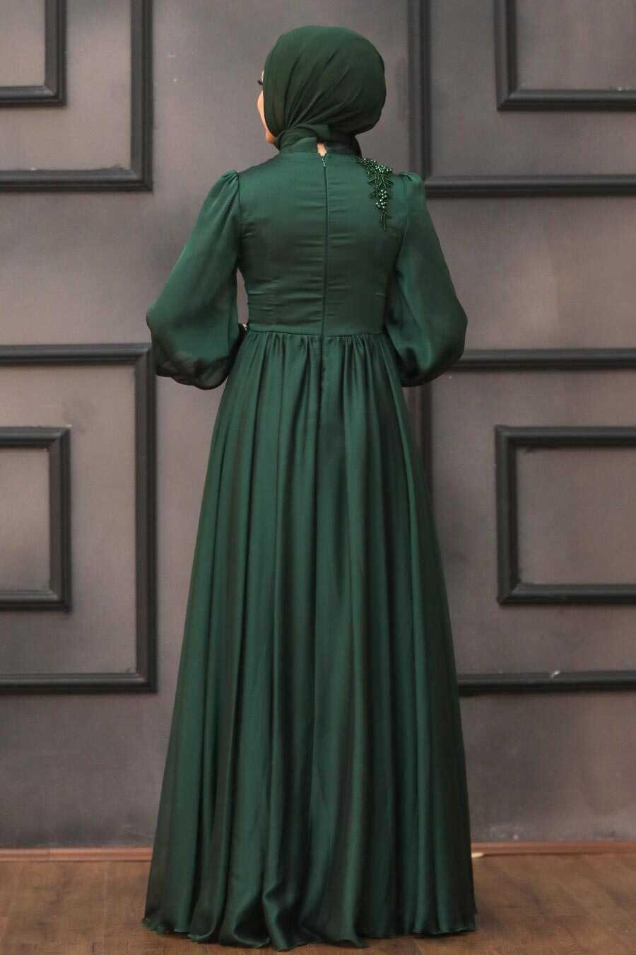Green Evening Dress 21630Y