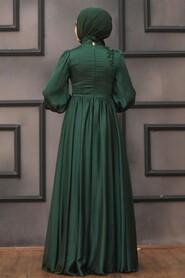 Green Evening Dress 21630Y - Thumbnail