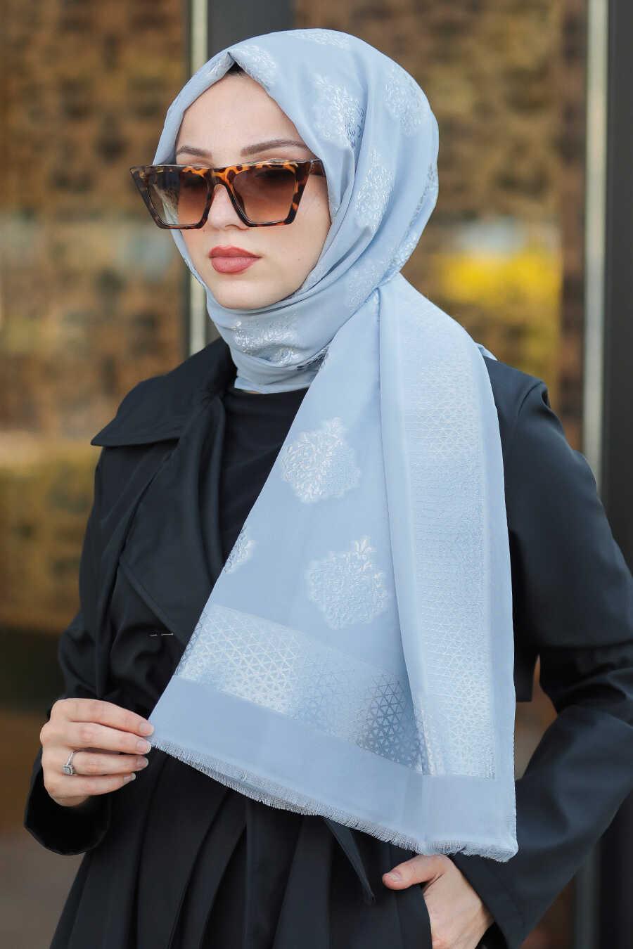 Grey Hijab Shawl 7531GR