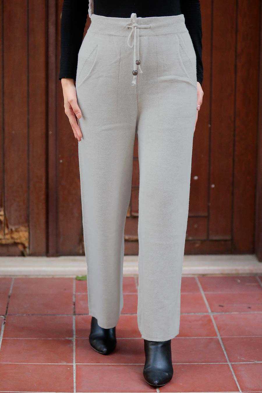 Grey Hijab Trousers 3107GR