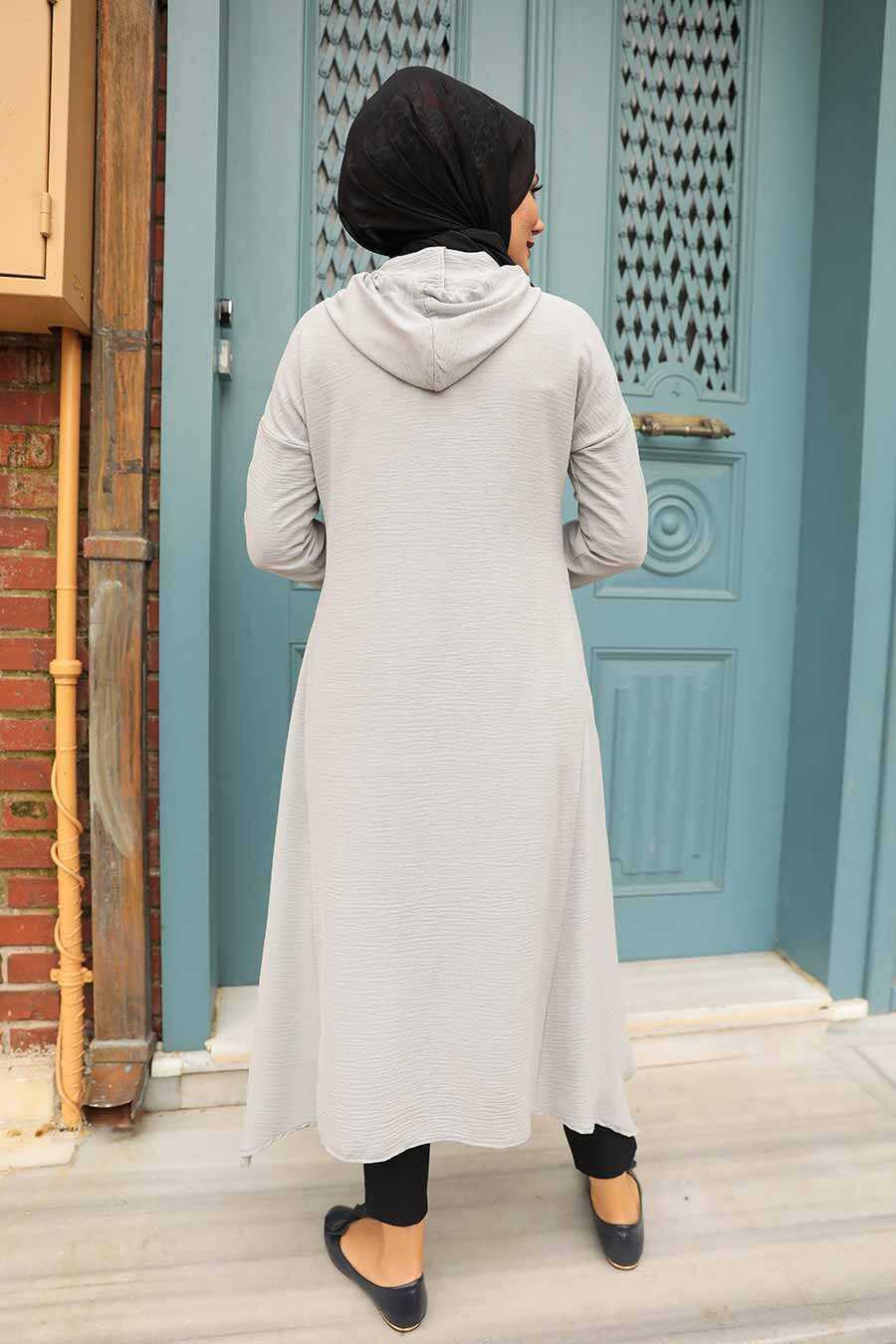 Grey Hijab Tunic 510GR