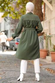 Khaki Hijab Tunic 5641HK - Thumbnail