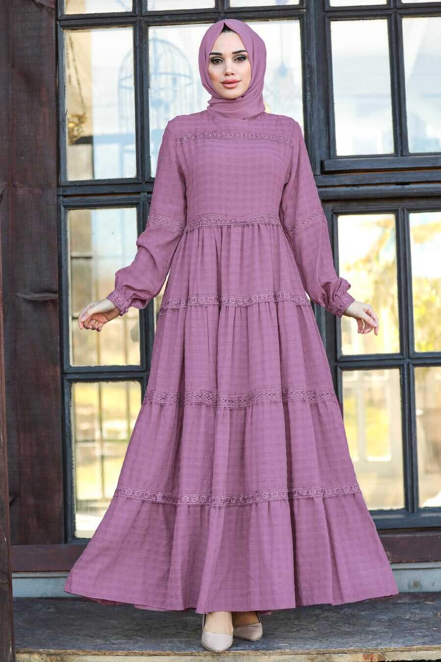 Lila Hijab Dress 2804LILA