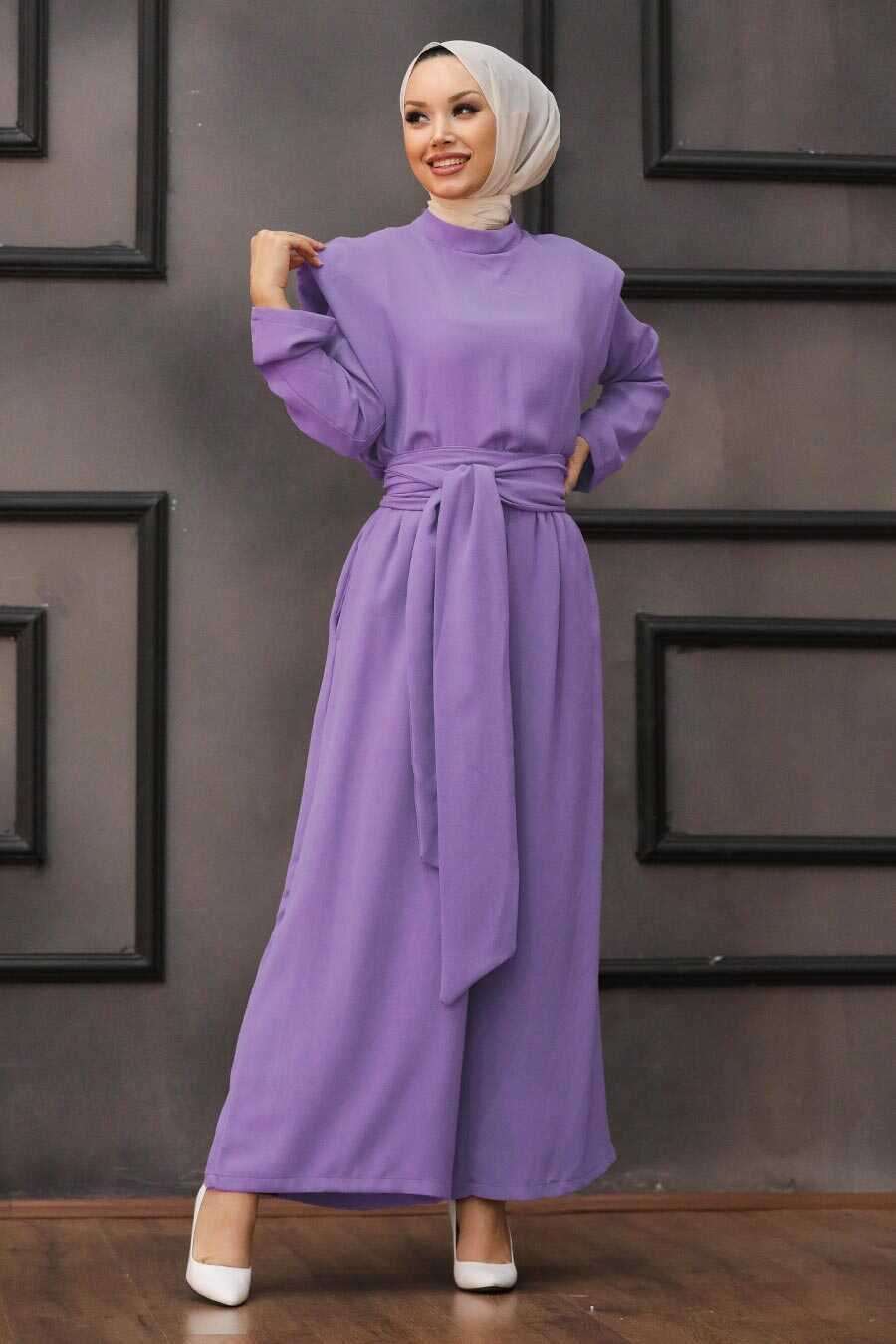 Lila Hijab Dual Suit Dress 1471LILA