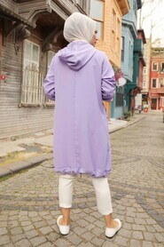 Lila Hijab Tunic 22850LILA - Thumbnail