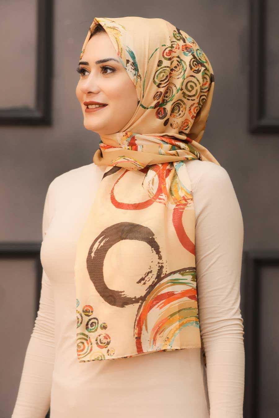 Mink Hijab Shawl 7564V