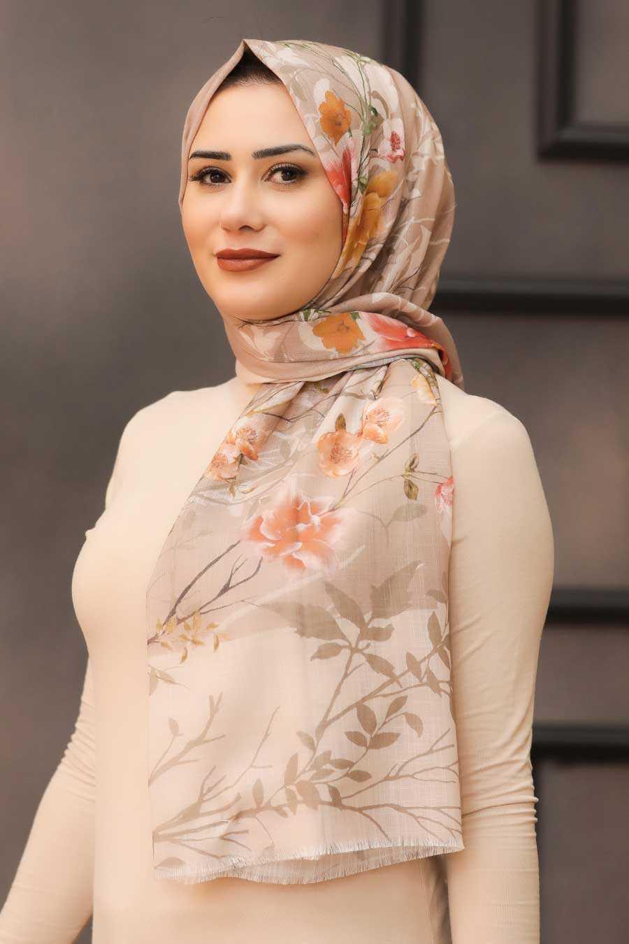 Mink Hijab Shawl 7565V