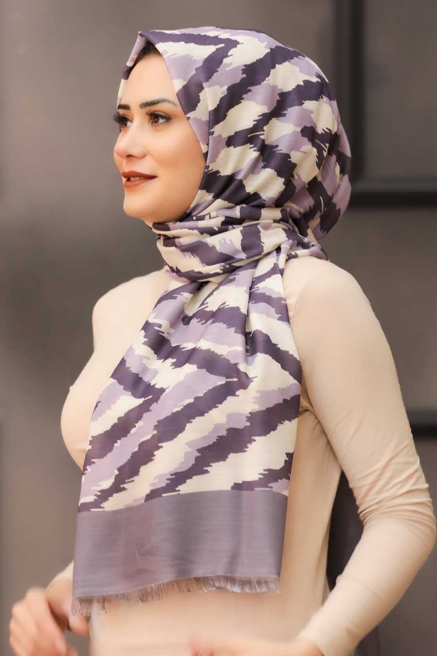 Mink Hijab Shawl 7567V