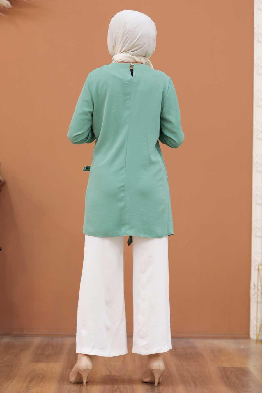 Mint Hijab Dual Suit 3039MINT