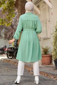 Mint Hijab Tunic 5641MINT - Thumbnail