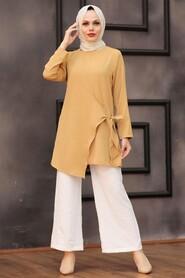 Mustard Hijab Dual Suit 3039HR - Thumbnail