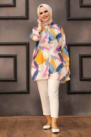 Mustard Hijab Tunic 273204HR - Thumbnail