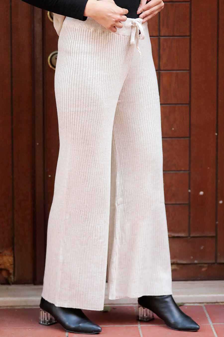 Stone Hijab Trousers 3101TAS