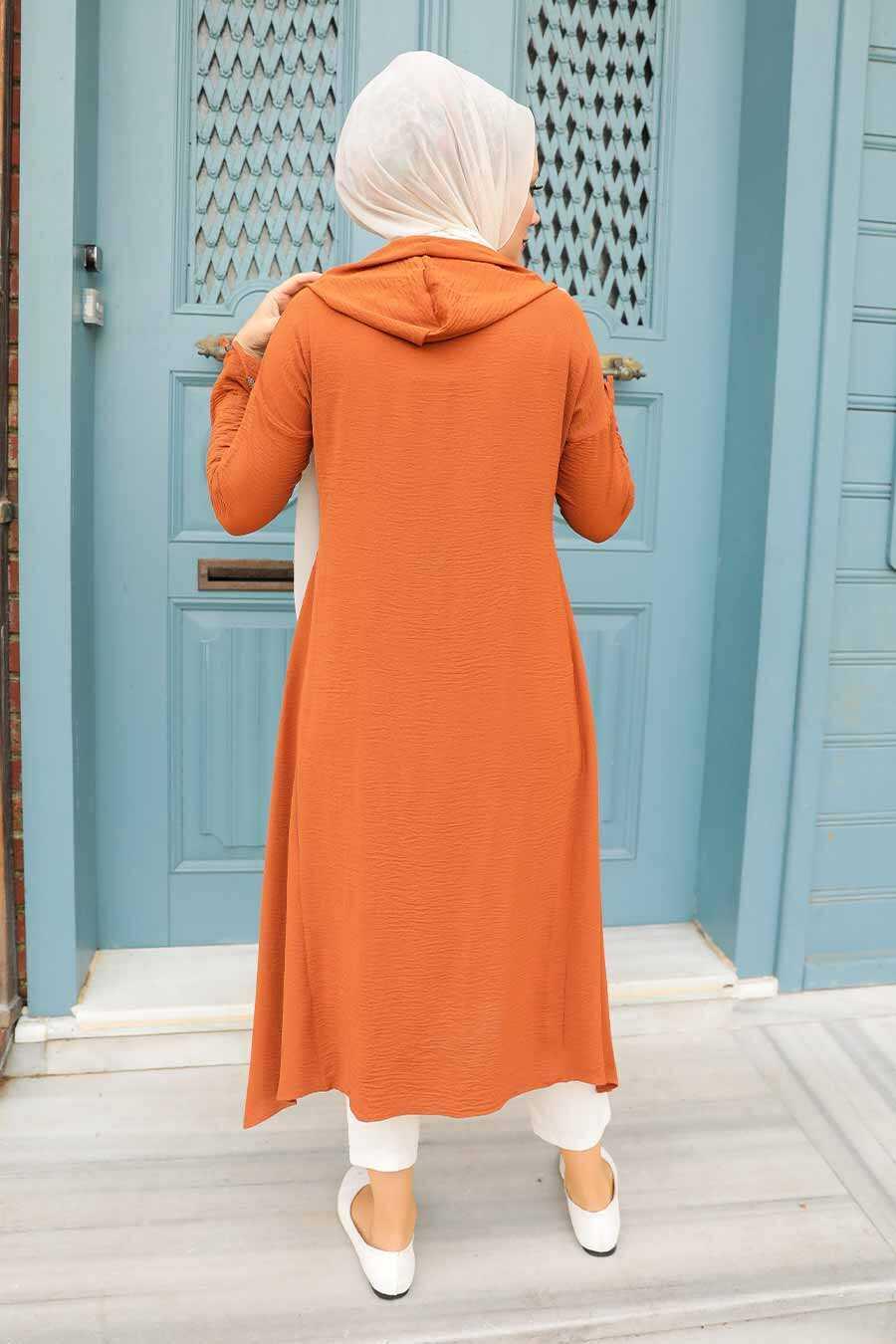 Terra Cotta Hijab Tunic 510KRMT