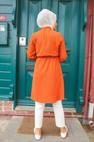 Terra Cotta Hijab Tunic 513KRMT - Thumbnail
