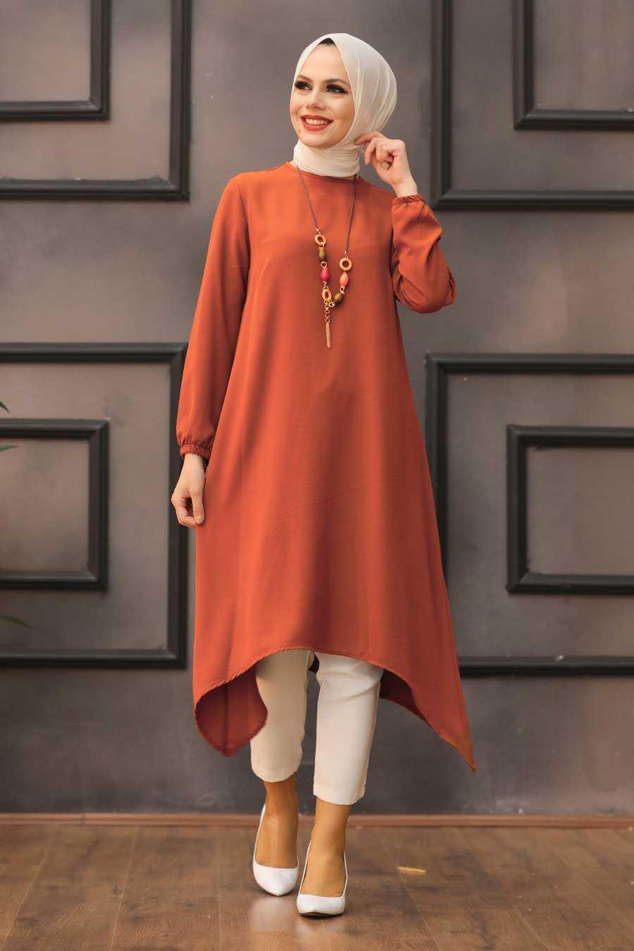 Terra Cotta Hijab Tunic 541KRMT